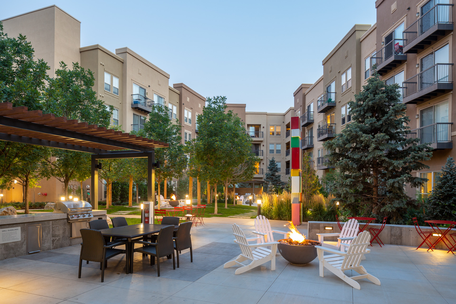 21 Fitzsimons Apartments - Aurora, CO - Outdoor Area