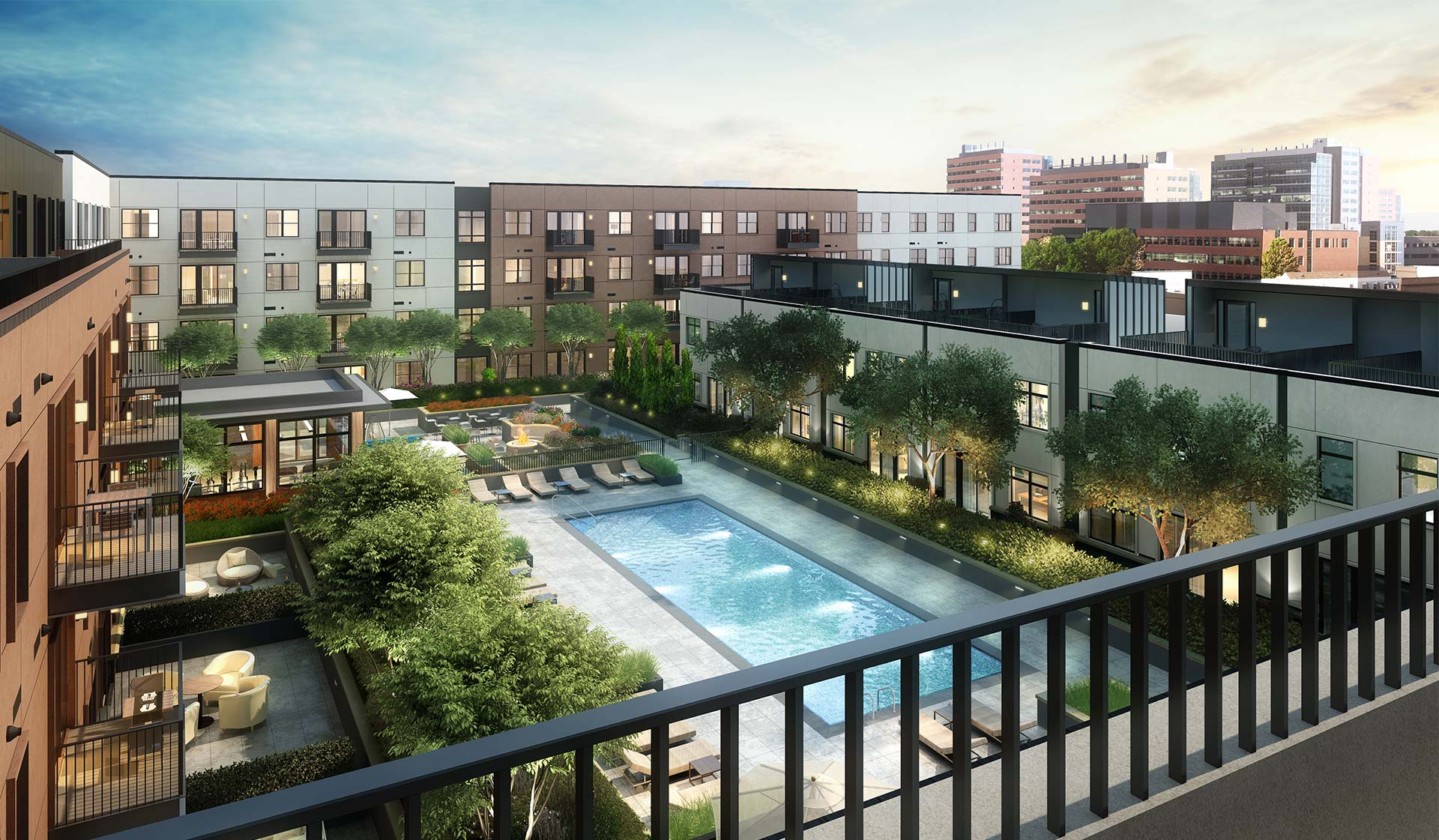 Fremont Residences - Aurora CO - Pool