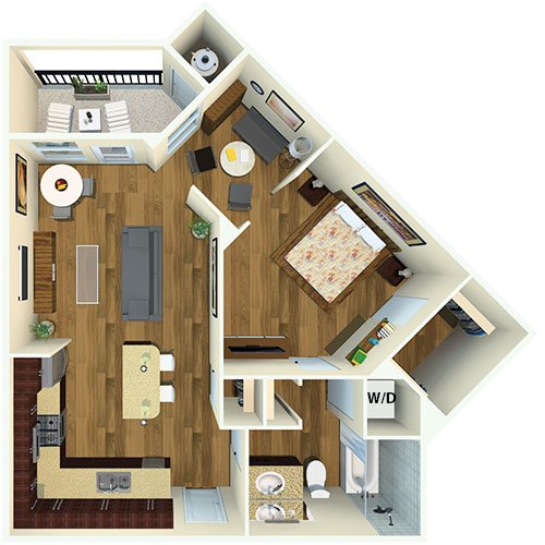 21 Fitzsimons Apartment Homes | Aurora, CO | Floor Plans
