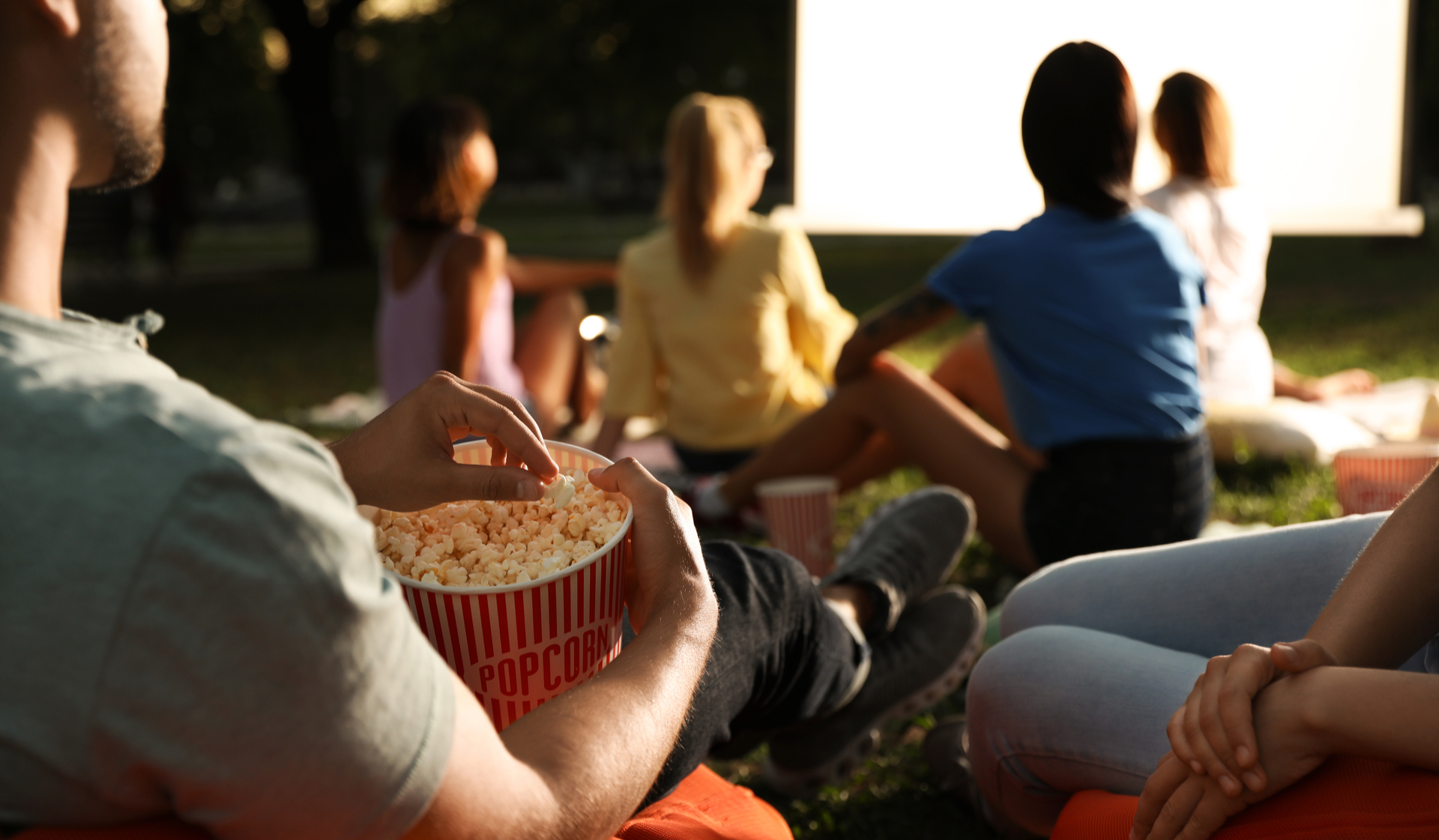21 Fitzsimons | Aurora, CO | outdoor movie screening with popcorn